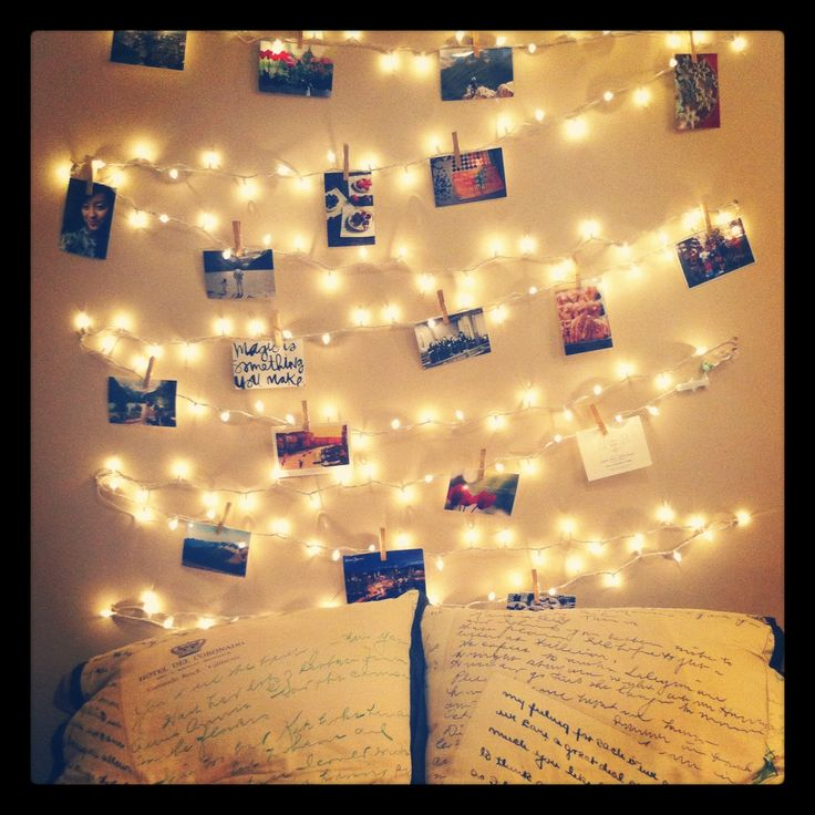 Ingenious Ways To Infuse Fairy Lights In Your Home Decor - Fairy lights in a bedroom