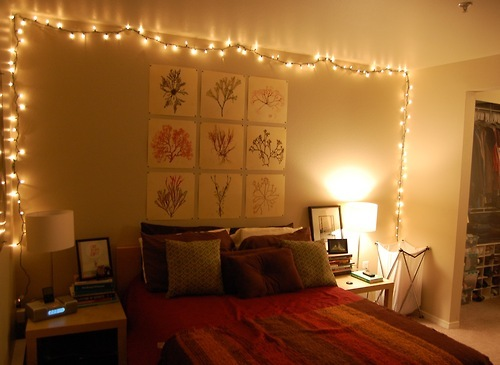 15 Ingenious Ways to Infuse Fairy Lights in your Home Decor ...