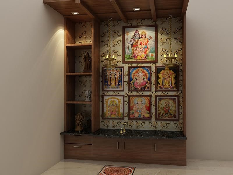 Top 5 Pooja Unit Design Ideas for every Indian Home - Homebliss