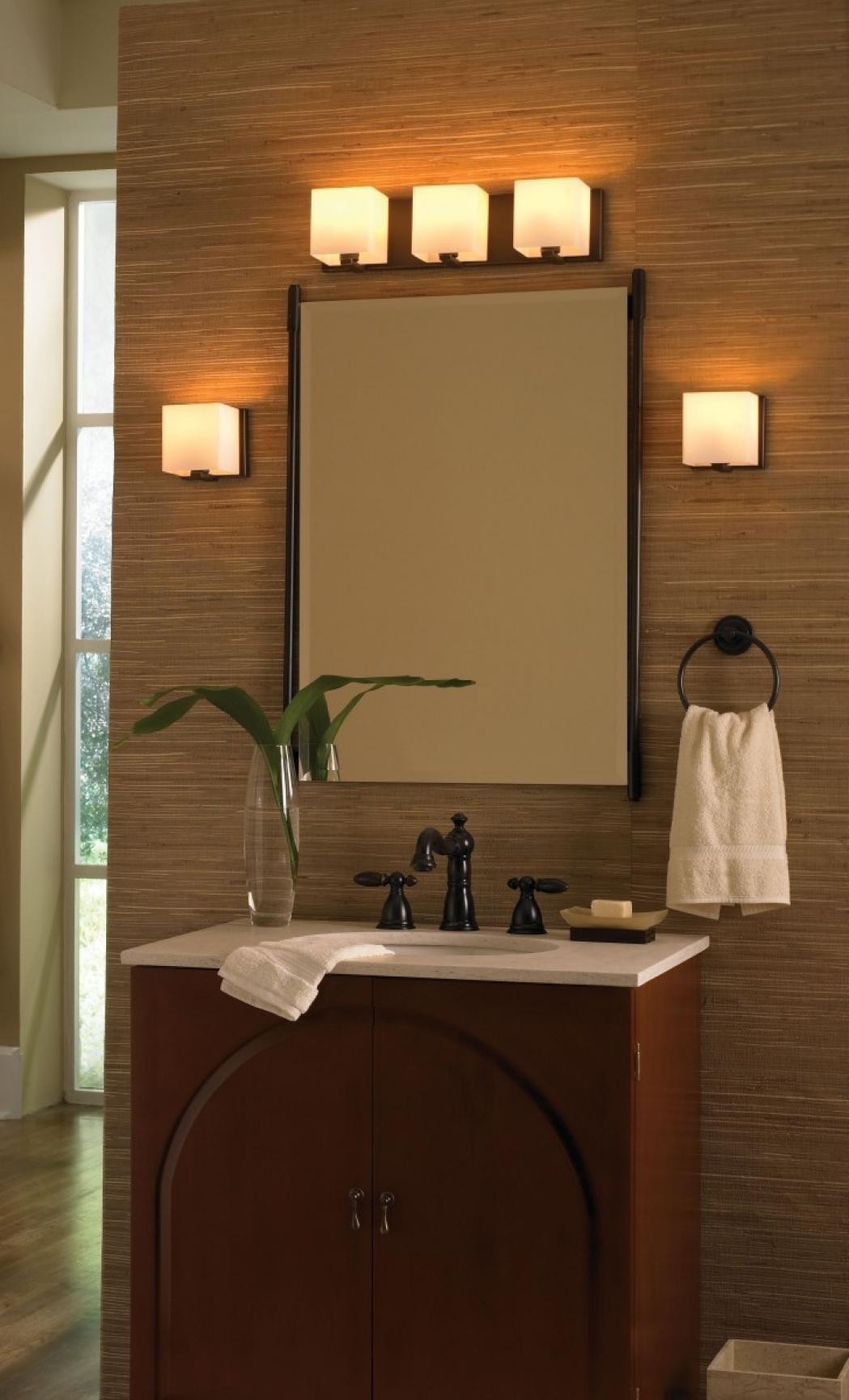 lighting for small bathrooms wall mount sliding door hardware small kitchen design with island - Homez.biz