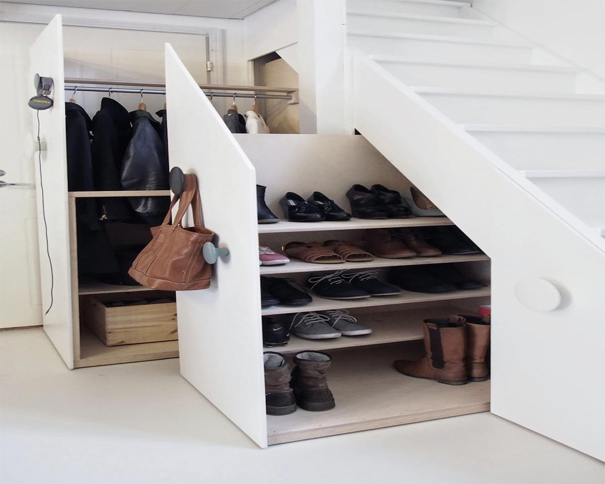 shoe storeage