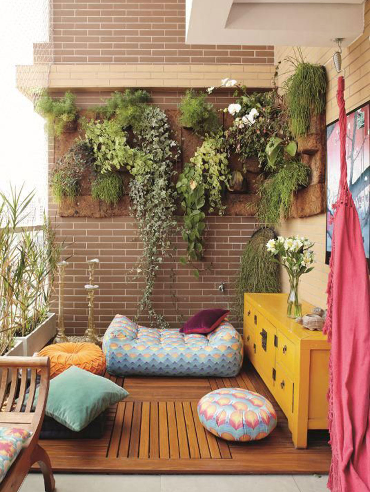 10 ideas for decorating small balcony - house design.