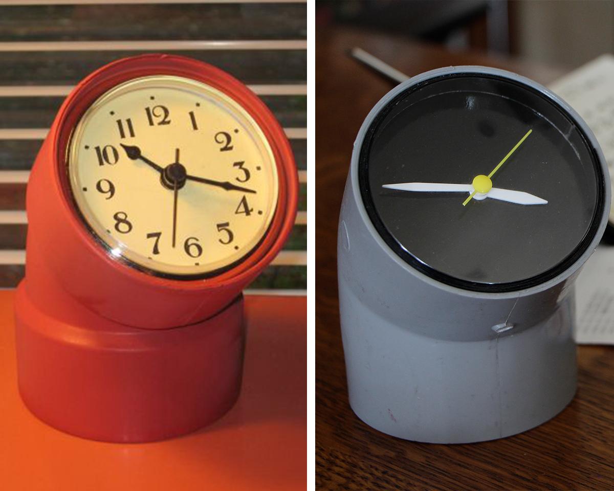 6.pvc pipe clocks