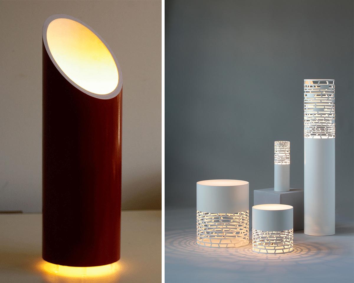 8.pvc pipe table lamp
