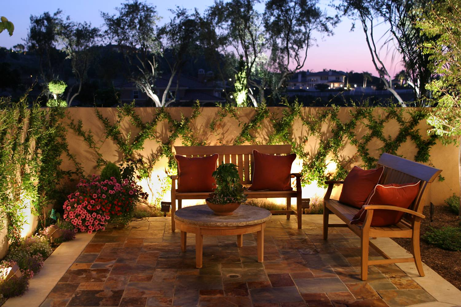landscape lighting chester county pa