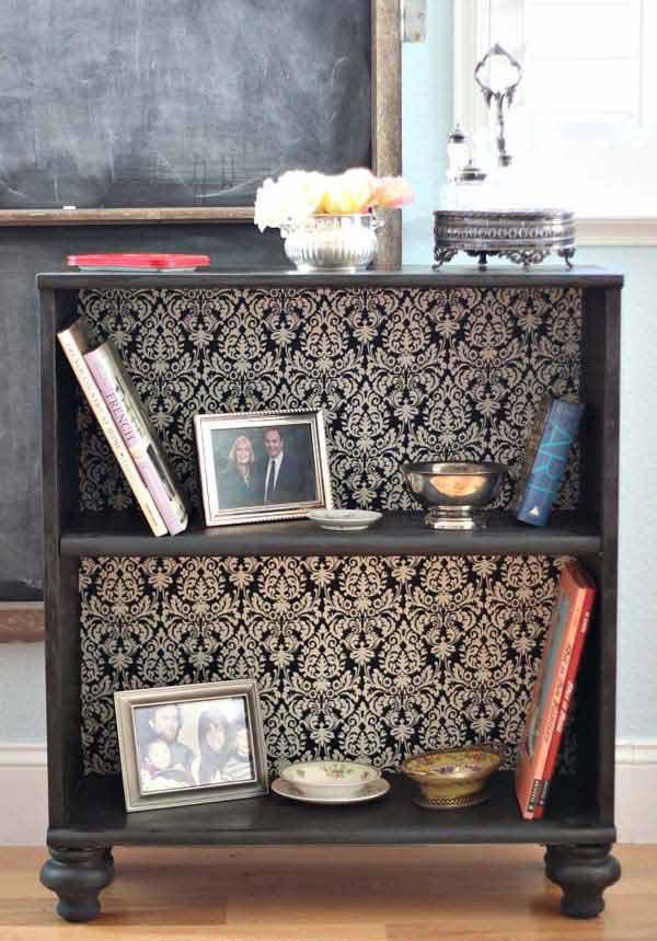 1.give a book shelf fashion movement