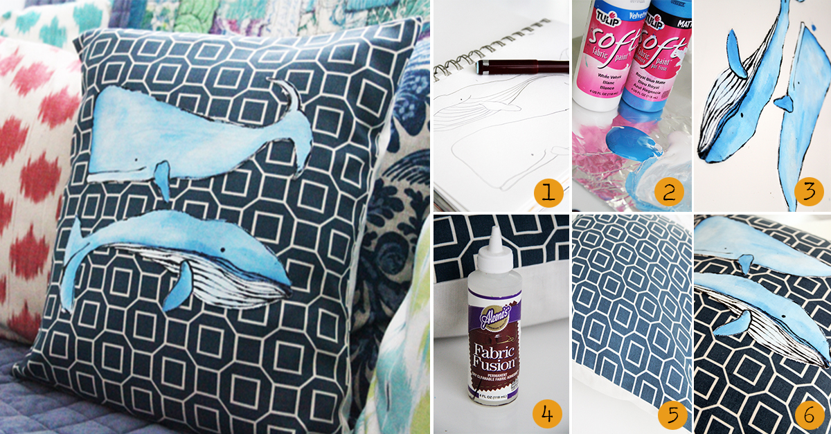 13. no sew whale pillow.alisaburke.blogspot.in