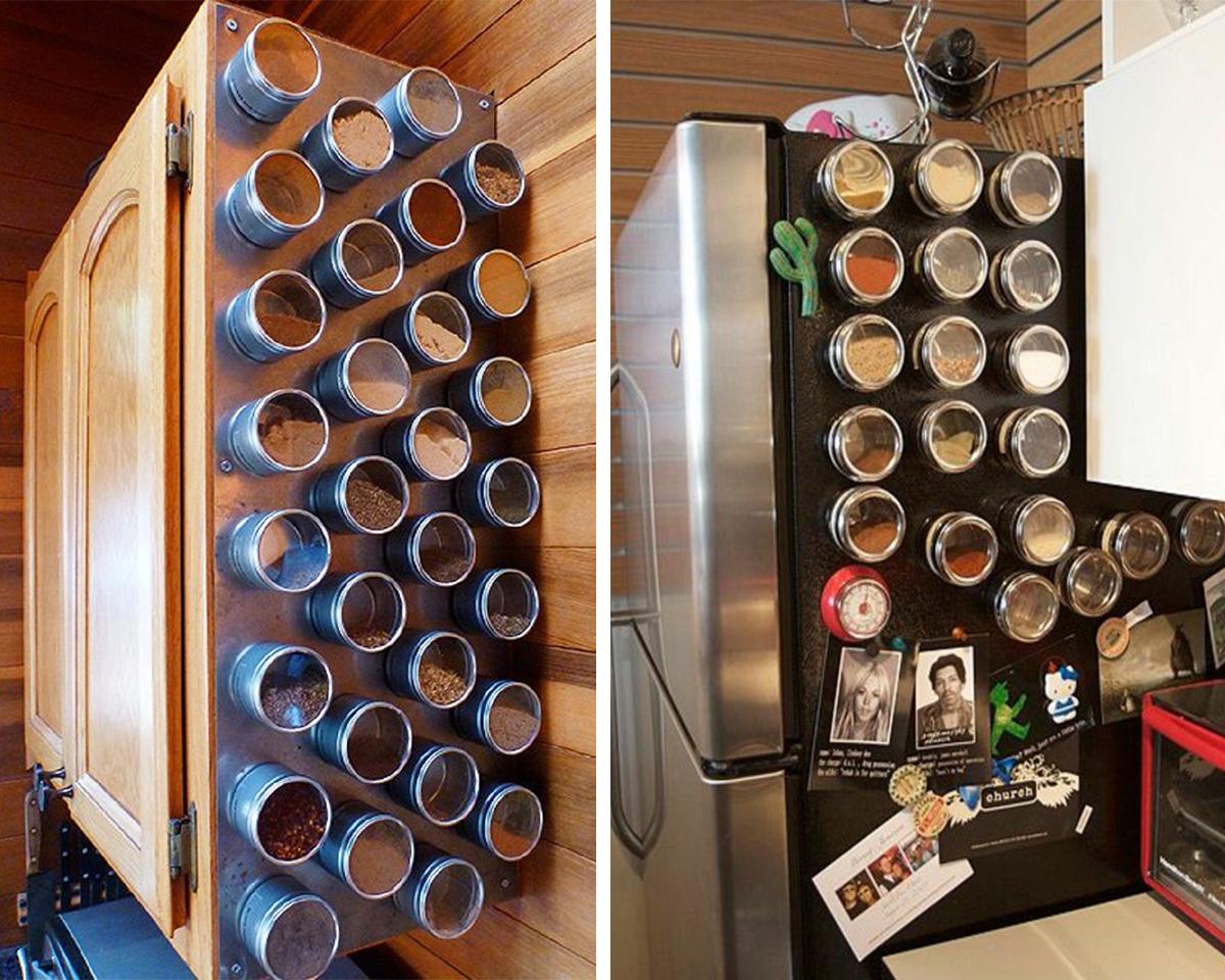magnetic spice holder