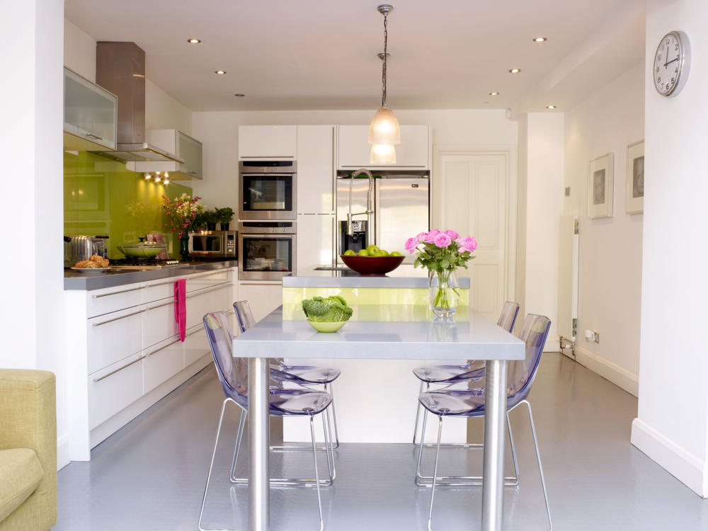 Modern kitchen diner
