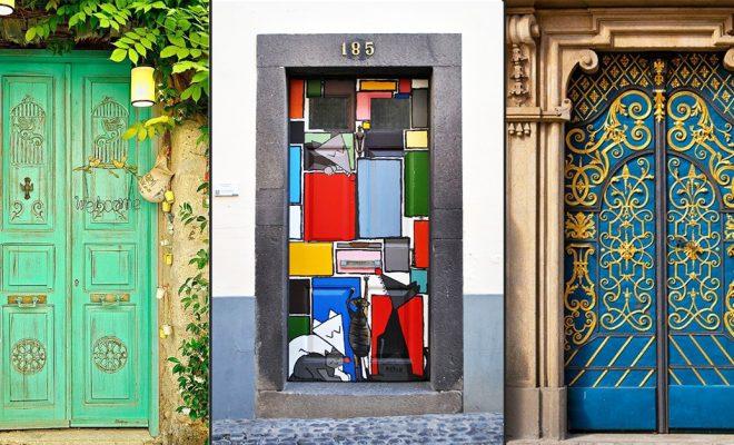 Decor Goal: 11 Creative Doors Across The World!