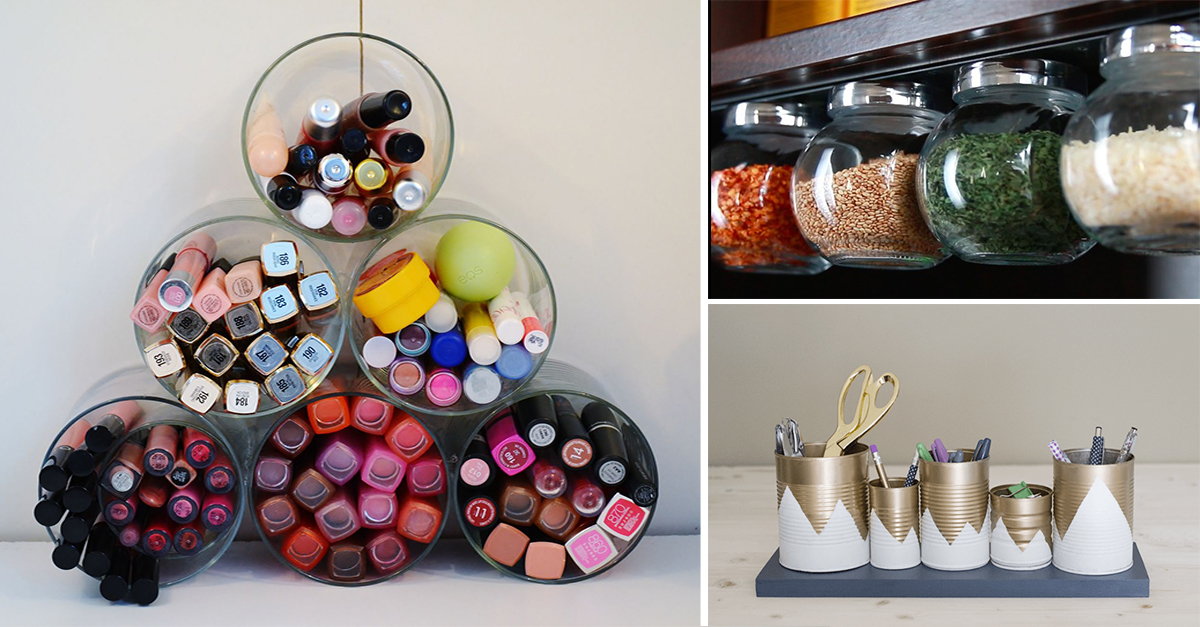 DIY Home Organizers