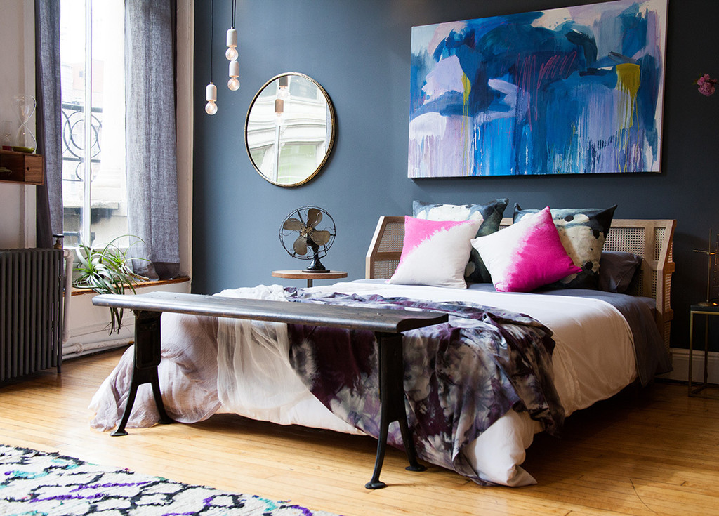 Niagara is another calming blue is the perfect colour for the bedroom.