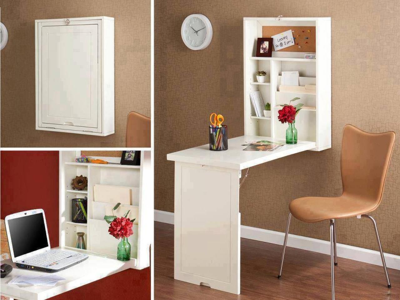 space-saving-fold-down-desk