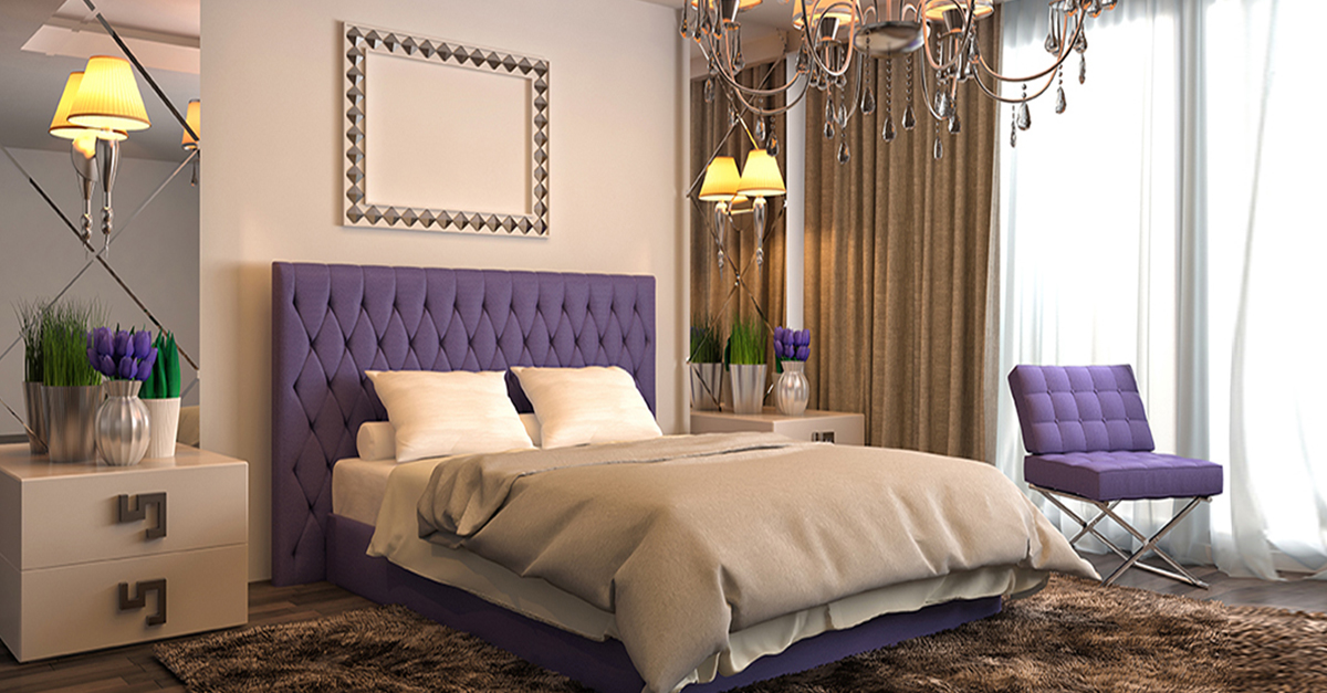 How to make small bedroom look bigger