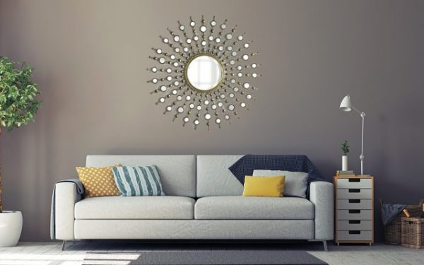 Decorate Your Home With This Easy DIY Sun Burst Mirror! DESIGN INSPIRATIONS