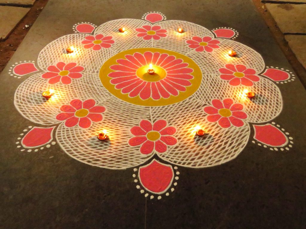 15 Rangoli Design Ideas To Try This Diwali 2017