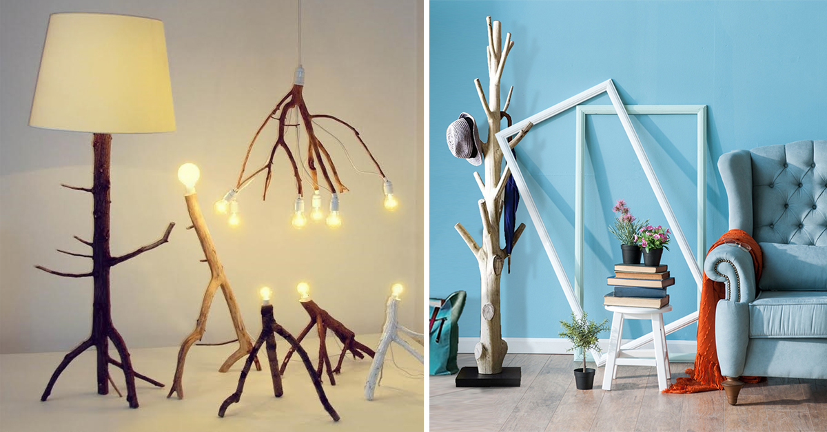 7 Gorgeous Ways To Decorate Your Home With Tree Branches!