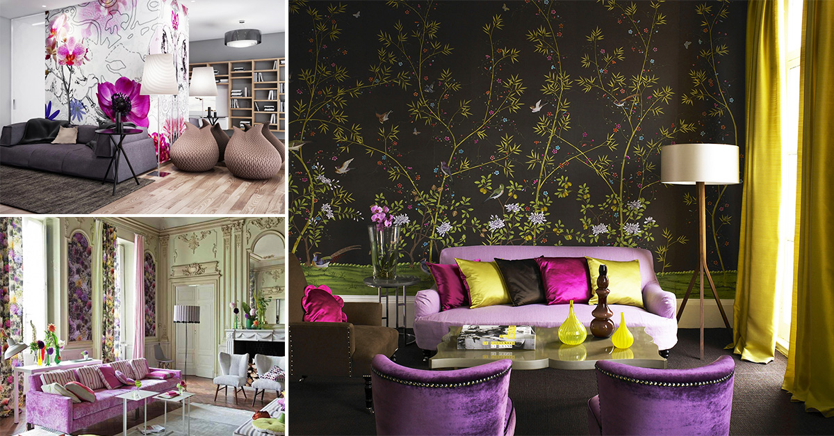 Get inspired 15 floral home decor ideas you will fall in for Home decor 2 love