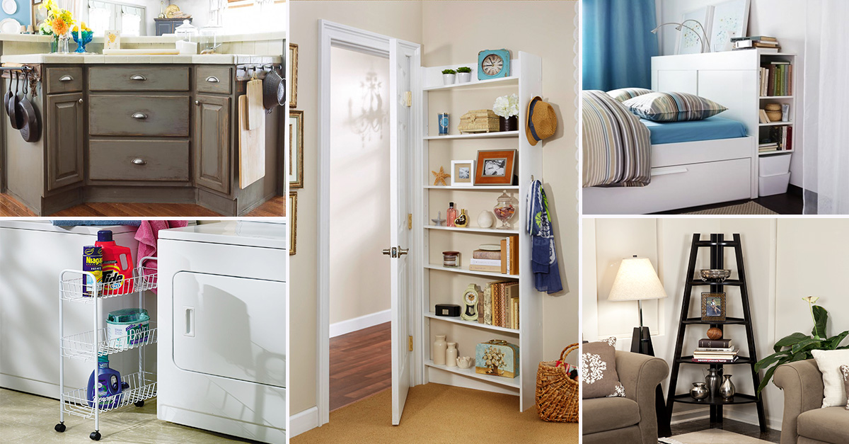 Get Organized With These 11 Hidden Storage Spaces