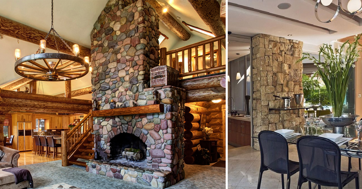 Decor Alert: 7 Ways To Use Stone In A Wall As A Decorative Element!