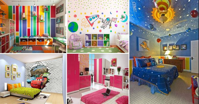 38 Impeccable Kids Room Decor Ideas - Homebliss