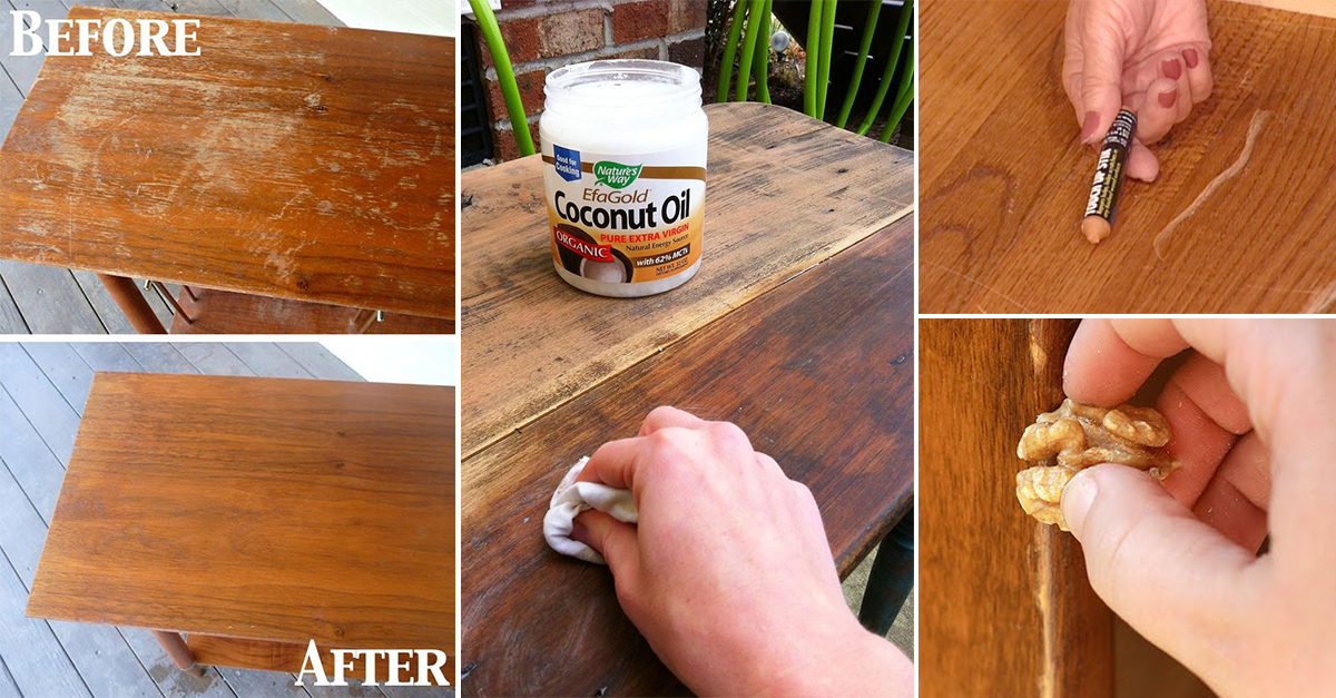 How To Remove Scratch From Wooden Furniture Homebliss