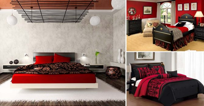 11 stunning red and black bedroom ideas homebliss for 15 x 11 bedroom ideas