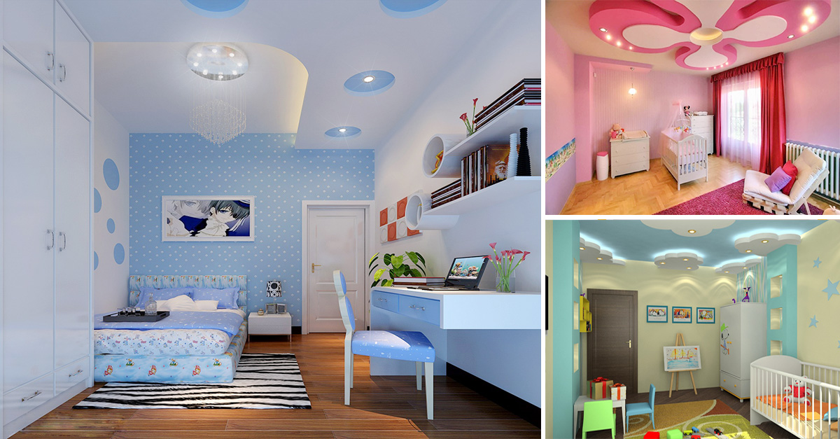Get Creative With Ceilings In Kids Bedrooms Homebliss
