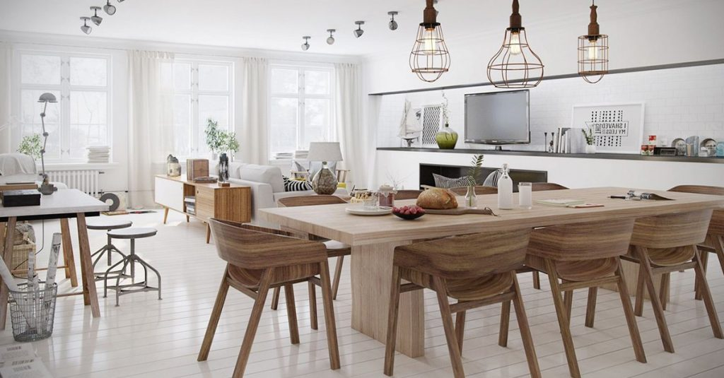 Scandinavian dining room design inspirations homebliss Scandinavian style dining room