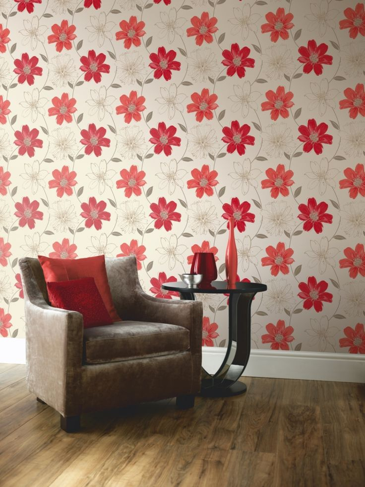 Bring Spring Into Your Living Room With Floral Motifs