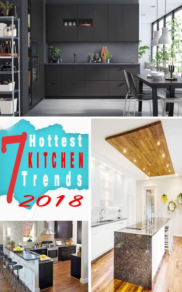 7 hottest kitchen design trends for 2018 homebliss. Black Bedroom Furniture Sets. Home Design Ideas