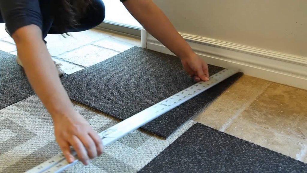 Renter s solution 9 temporary flooring solutions that are for Temporary flooring for renters