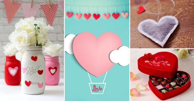 11 Valentine\'s Day DIY Gift Ideas For Your Sweetheart