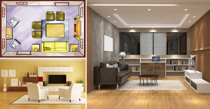 8 Genius Way to Set Up the Perfect Living Room - Homebliss