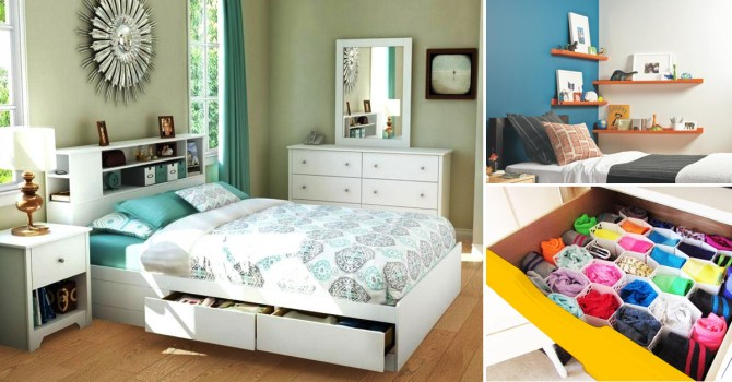 Ingenious.Innovative.Inventive   8 Genius Bedroom Storage Ideas   Homebliss