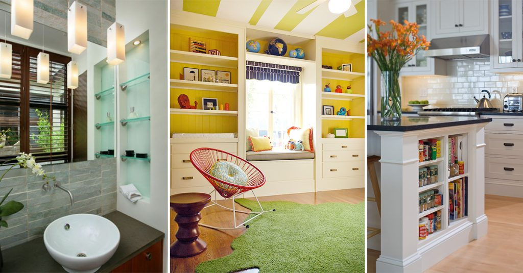 Superieur Built In Storage Ideas