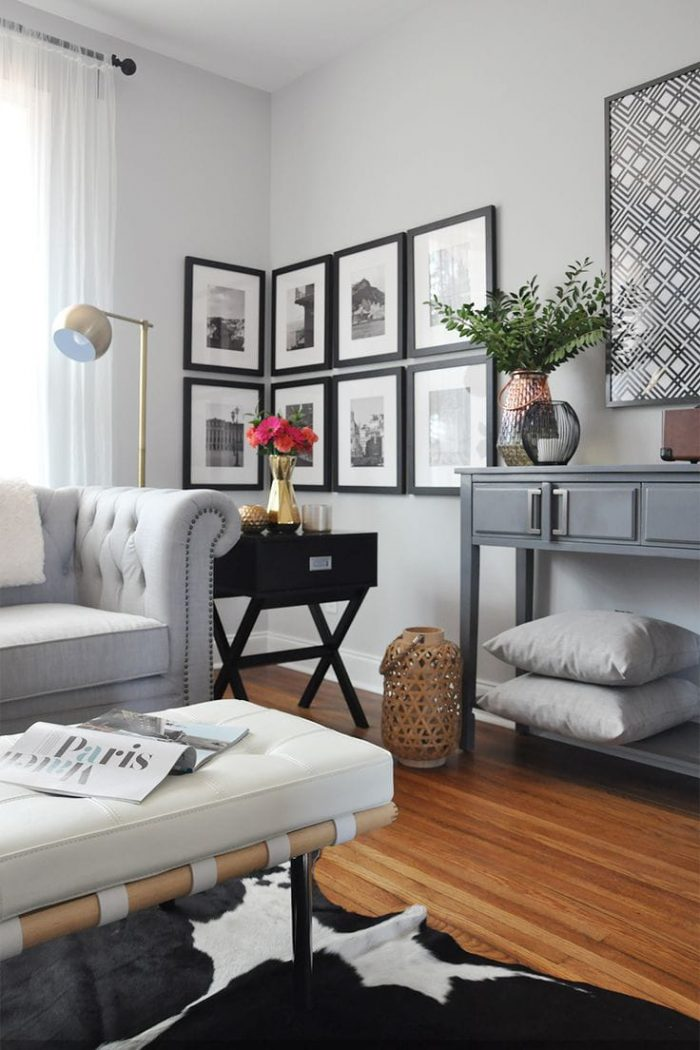 living room wall designs the best home decor | Ways To Fill Up An Awkward Corner - Homebliss