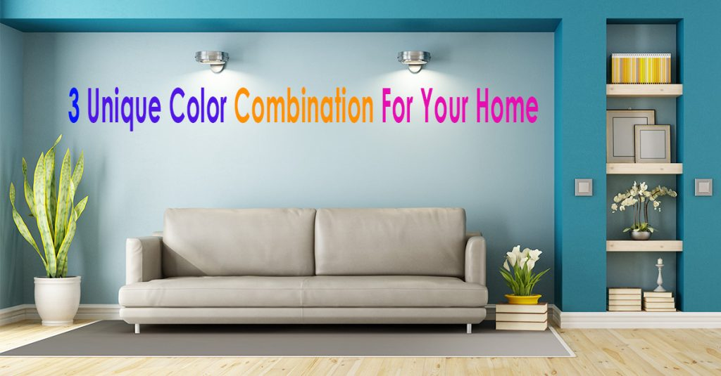 Unique Color Combinations for home