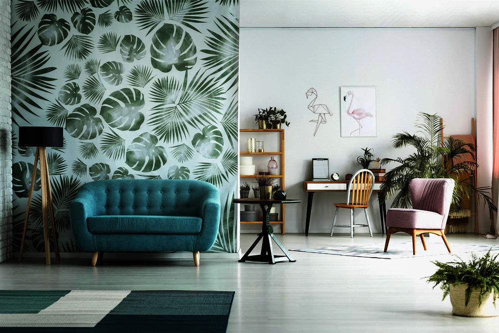 Green Colored Living Room Decor Ideas