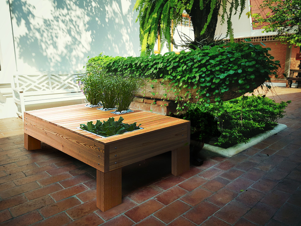 Open Air Storage Table