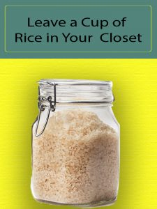 Why You Should Keep Rice In The Closet