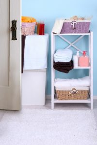 Declutter your bathroom