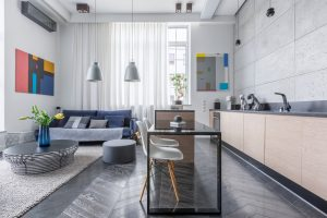How to decorate with open floor plan