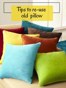 7 Surprising Things You Can Do With Old Pillows