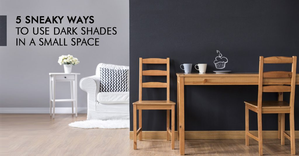 5 Ways to Use Dark Colors in a Small Space