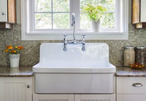 How to get rid of rust stains from a porcelain sink