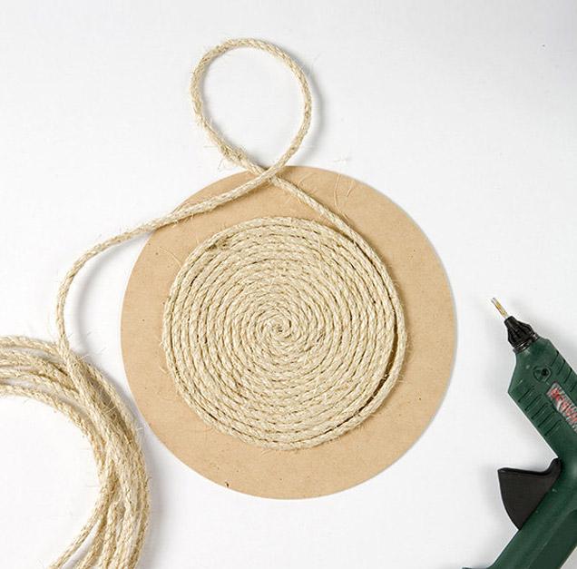 DIY Rope Table Mat