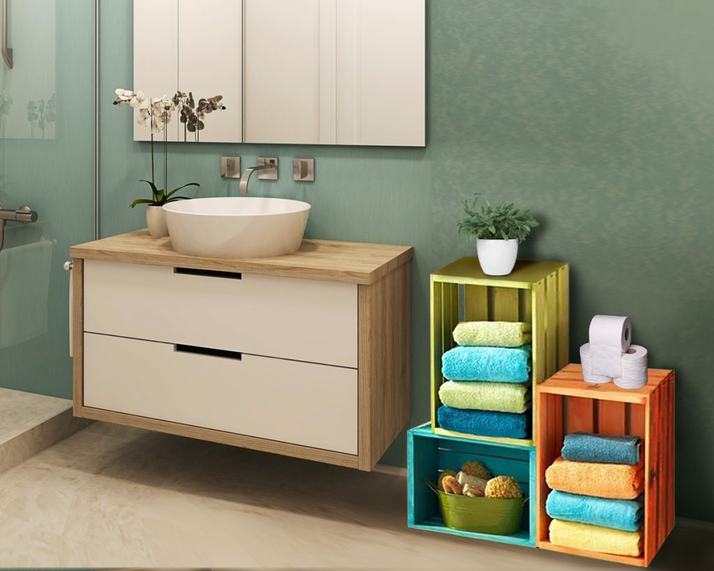 8 Creative Bathroom Storage Ideas