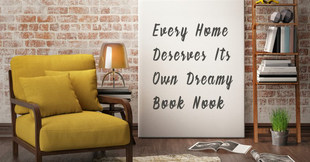 Here's How To Create The Perfect Reading Nook In Your Home