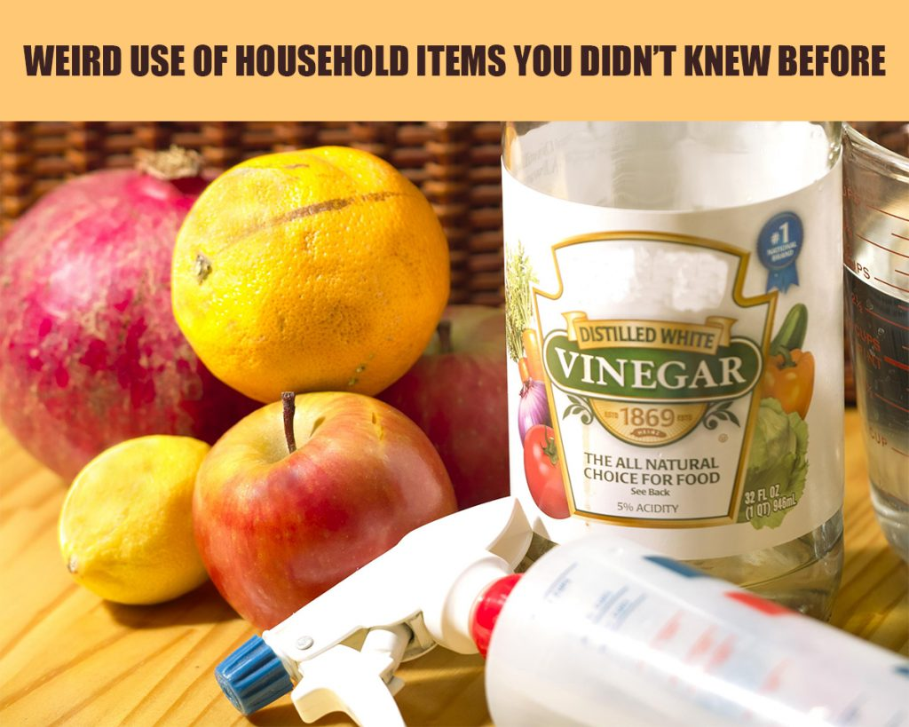 5 Weird Uses of Household Items You Didn't Know Before